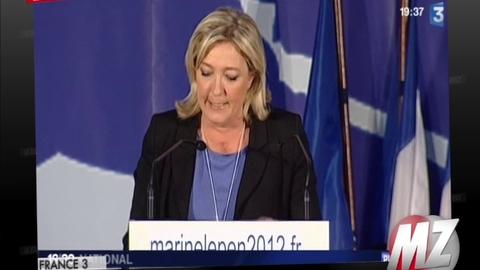 """Morandini Zap: Marine Le Pen qualifie François Bayrou de """"centriste le plus mou"""""""