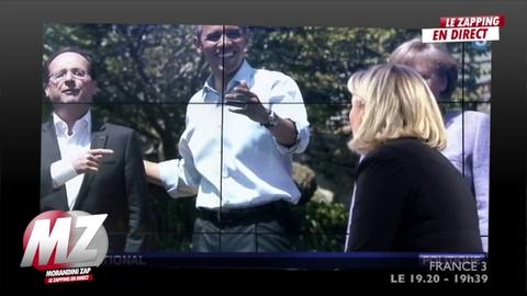"""Morandini Zap/Marine Le Pen: """"La seule bataille que mène François Hollande au G8, c'est la bataille des mots"""""""