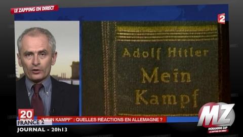 """Morandini Zap: """"Mein Kampf"""" d'Hitler sera republié en 2015 en Allemagne"""