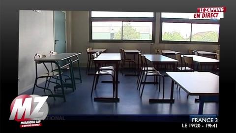 Morandini Zap: La mère d'un élève agresse une enseignante en plein cours près de Poitiers
