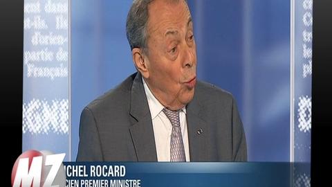 Morandini Zap: Michel Rocard propose de supprimer la dissuasion nucléaire française