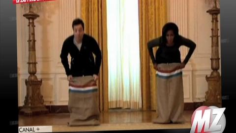 Morandini Zap: Michelle Obama se lâche à la télévision américaine
