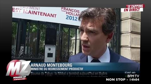 Morandini zap : Montebourg s'excuse mais précise...