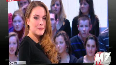 Morandini Zap: Nicolas Dupont Aignan troublé par la Miss Météo de Canal +