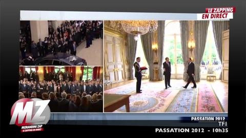 Morandini Zap: Nicolas Sarkozy a quitté le palais de l'Elysée