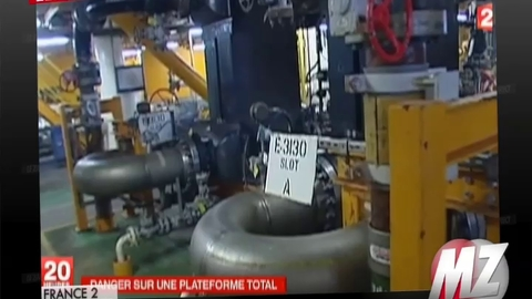 Morandini Zap: Une plate-forme pétrolière menace d'exploser en mer du Nord