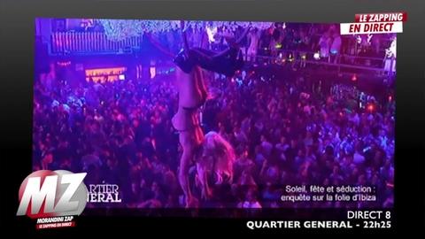 """Morandini Zap : le """"porno show"""" d'Ibiza"""