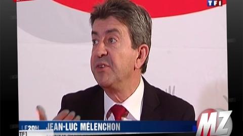 """Morandini Zap: Pour Jean-Luc Mélenchon, les candidats à la présidentielle prennent les Français pour des """"cons"""""""