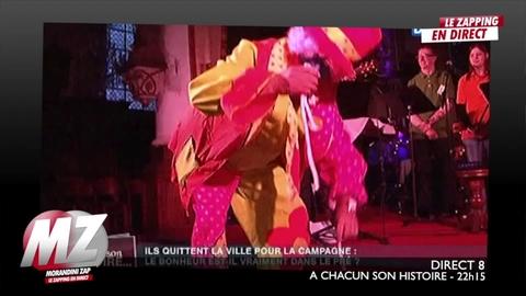 Morandini Zap : Un pretre se déguise en clown durant la messe