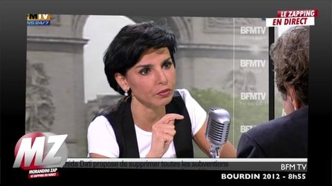Morandini zap : Rachida Dati descend Bachelot sur son bilan de ministre