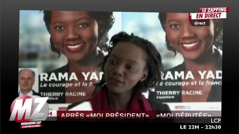"Morandini Zap: Rama Yade s'inspire du ""Moi, président de la République"" de François Hollande"