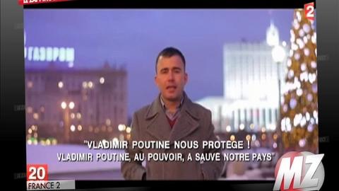 Morandini Zap: Un Russe chante son amour pour Vladimir Poutine