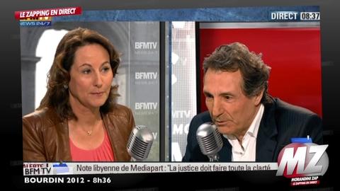 """Morandini zap : Ségolène Royal raconte l'anniversaire de Julien Dray: """"DSK ? J'ai cru à une blague!"""""""