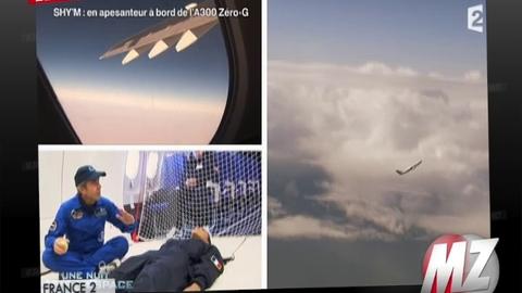 Morandini Zap: Shy'm en apesanteur à bord de l'A300 Zéro-G