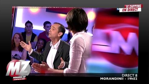 Morandini zap : tensions R.Menard/JM Morandini
