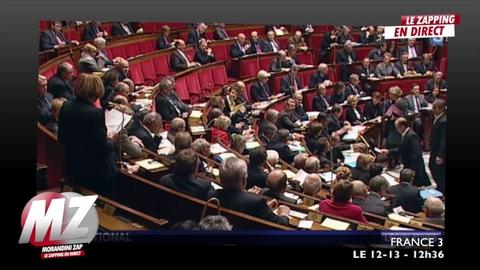 Morandini Zap: L'UMP paie 4 millions d'euros d'amende par an pour non-respect de la parité