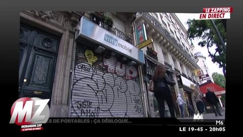 Morandini zap : Les voleurs ont trouvé une parade contre le blocage des téléphones portables