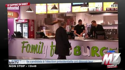 Morandini zap : 1 vote = 10% de réduction sur un menu halal