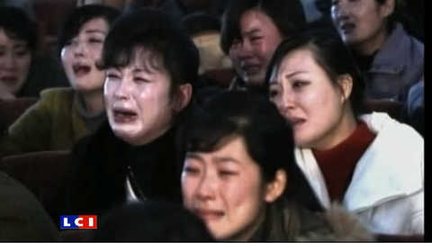 Mort de Kim Jong-Il : les Nord-Coréens effondrés
