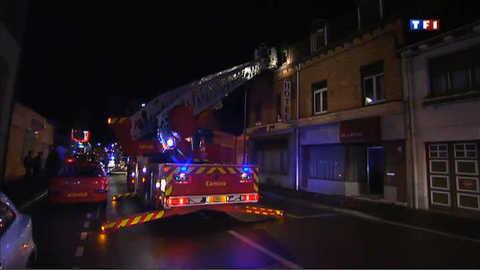 Un mort et plusieurs blessés légers dans l'incendie d'un hôtel à Armentières