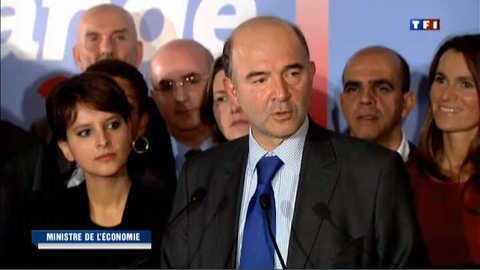 Moscovici, nouveau ministre de l'Economie en première ligne