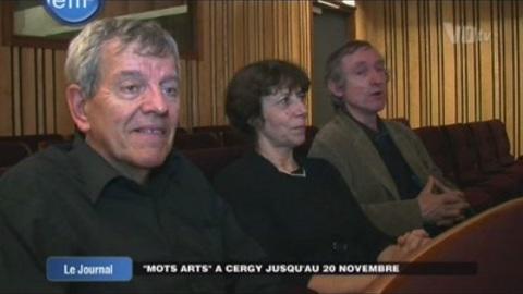 « Mots Arts » à Cergy jusqu'au 20 novembre