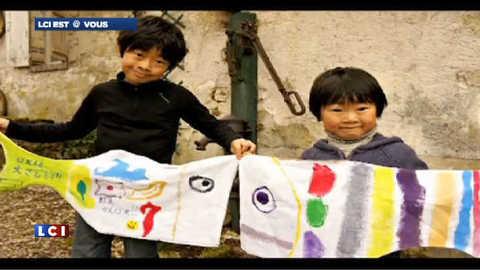 Des mots et des dessins pour les enfants de Fukushima