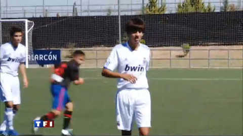 My name is Zidane... Enzo Zidane