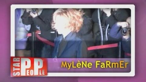Mylène Farmer en mariée pour Jean-Paul Gaultier