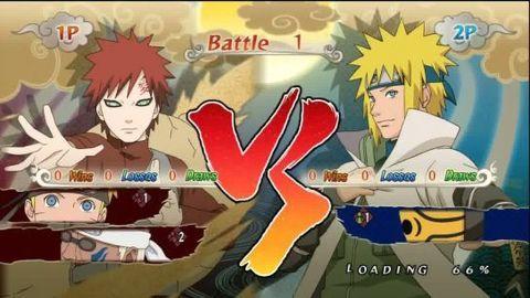 Naruto Ninja Storm Generations : Gameplay