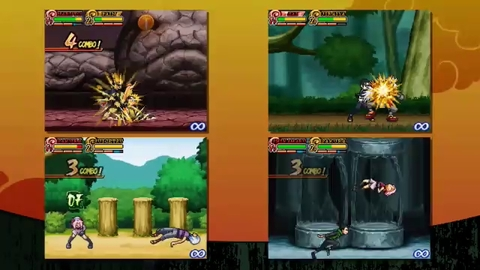 Naruto Shippuden Shinobi Rumble - Launch Trailer - DS
