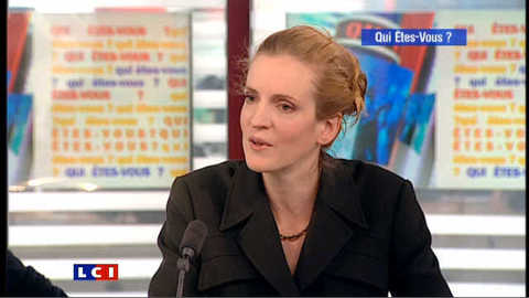 """Nathalie Kosciusko-Morizet : """"mes enfants portent mon nom, c'était dans le contrat !"""""""