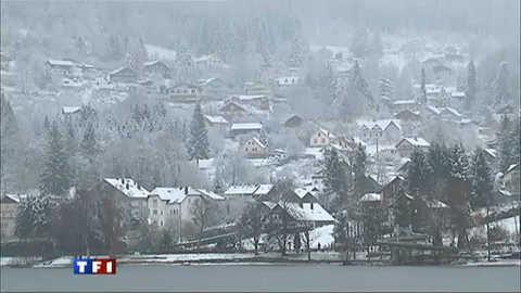 La neige enchante les habitants de Gérardmer
