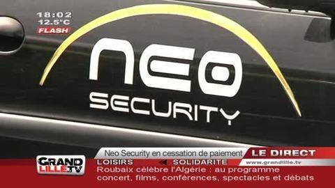 Neo Security en cessation de paiement !