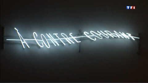 Le néon dans l'art, l'exposition