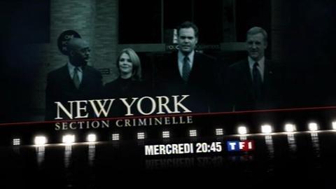 NEW YORK SECTION CRIMINELLE - MERCREDI 14 JANVIER 2009 20:45