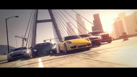 NFS Most Wanted Trailer 2012