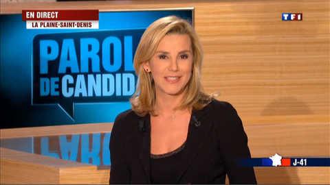 """Nicolas Sarkozy, invité de """"Parole de candidat"""""""