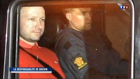 Norvège : Breivik pénalement responsable après une nouvelle expertise