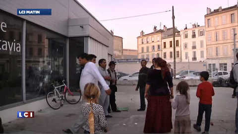 Une nouvelle expulsion de roms demandée à Marseille