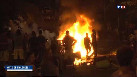 Nouvelle nuit de violences à La Réunion