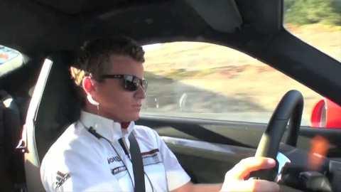 La nouvelle Porsche 911 au circuit de Laguna Seca