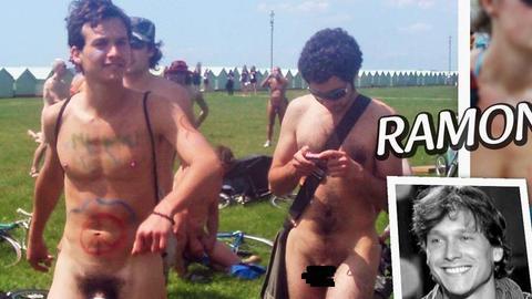 Nouvelle Star: Ramon se ballade nu à Brighton (Reportage)