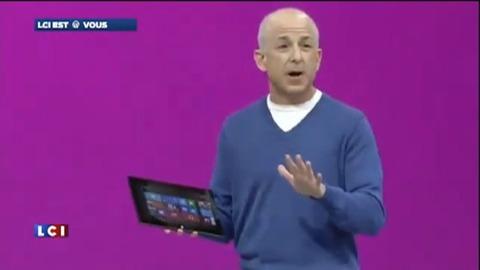 La nouvelle tablette Microsoft plante en pleine démonstration !