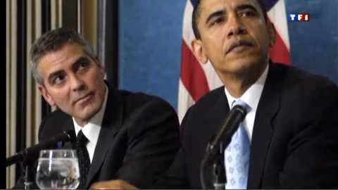 Obama collecte 15 millions de dollars dans la villa de Clooney