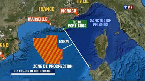 De l'or noir au large des côtes françaises en Méditerranée ?