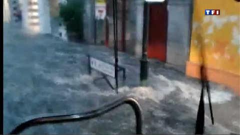 Orages : torrents d'eau sur Laval