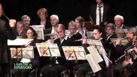 L'orchestre d'harmonie municipale du Mans à Coulaines