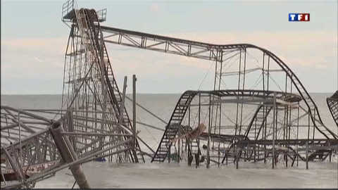 Ouragan Sandy : le New Jersey endeuillé
