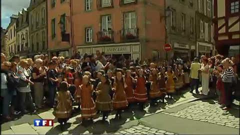 Ouverture du Festival de Cornouaille